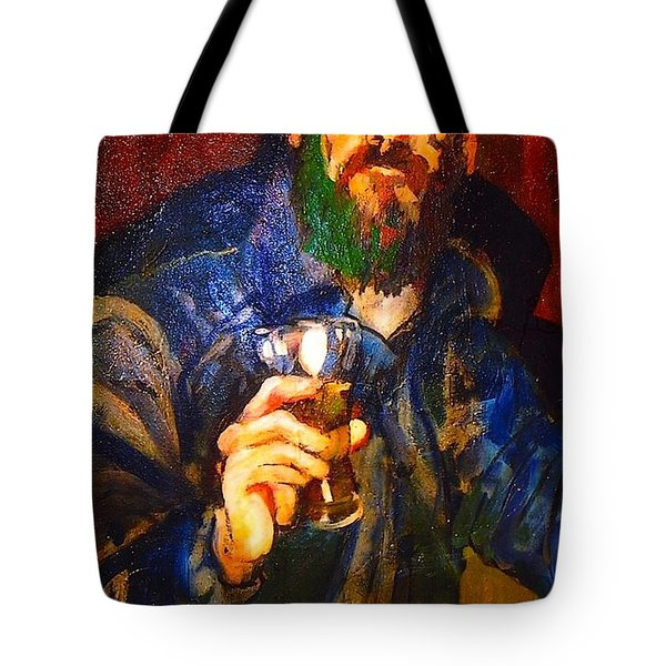 Tote Bag featuring the painting Al by Les Leffingwell