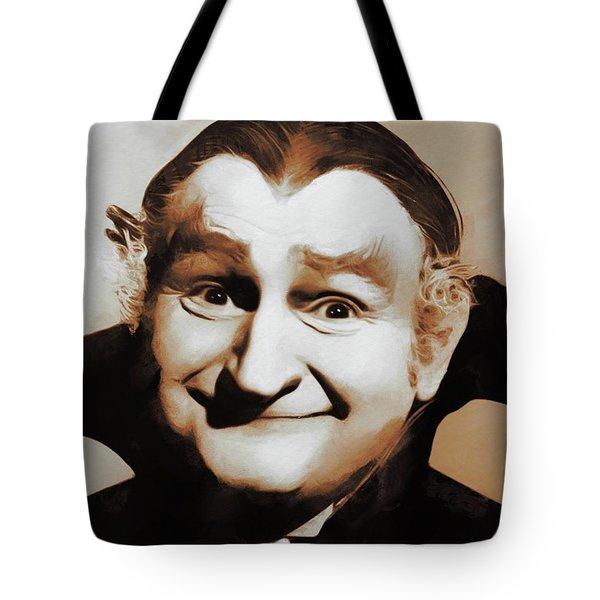 Al Lewis, Grandpa Munster Tote Bag