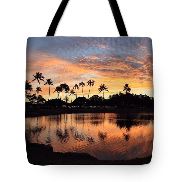 Ala Moana Sunset Tote Bag by DJ Florek