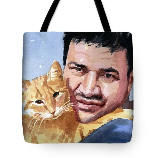 Alaa And Feras Tote Bag