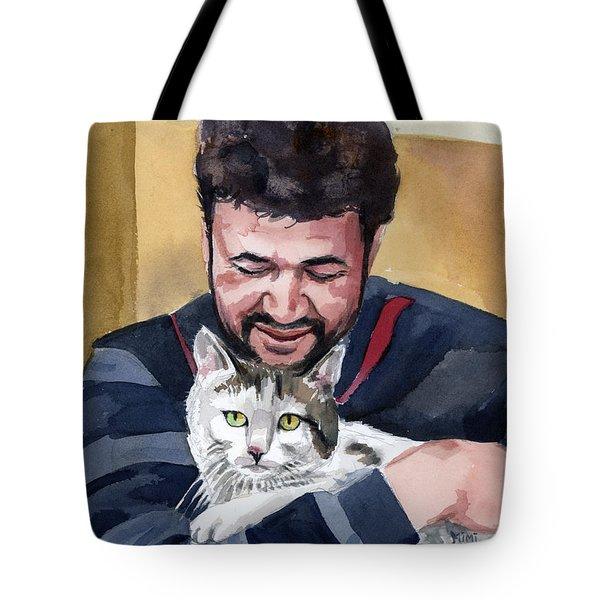 Alaa And Samson Tote Bag