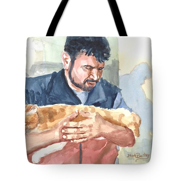 Alaa Rescuing An Injured Cat Tote Bag