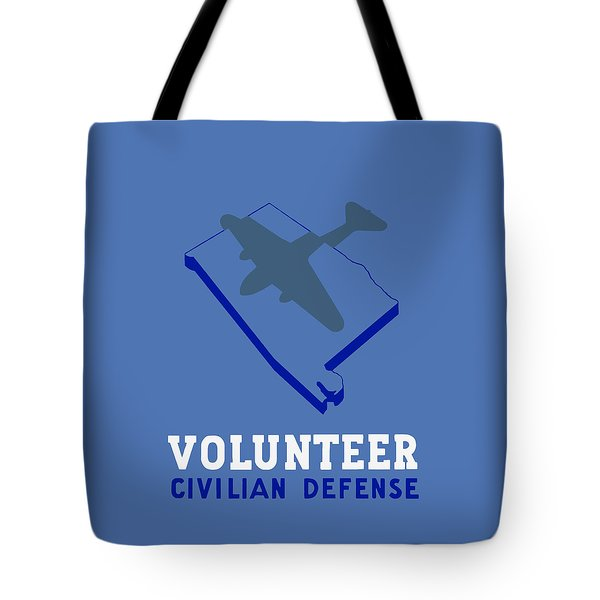 Alabama Civilian Defense - Wpa Tote Bag by War Is Hell Store