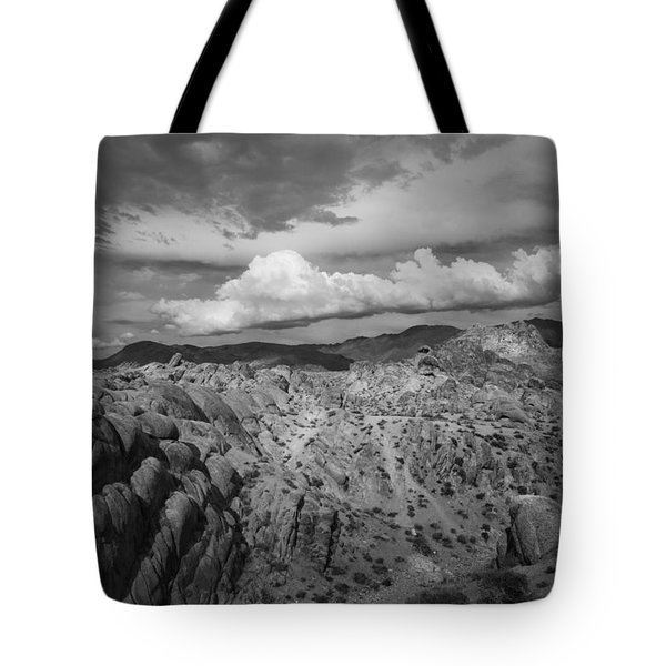 Alabama Hills Storm Tote Bag