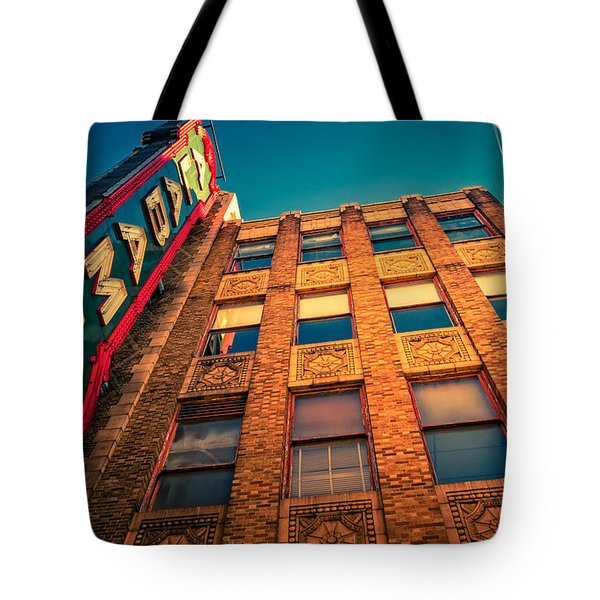Alabama Theater Sign 2 Tote Bag by Phillip Burrow