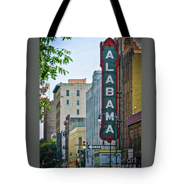 Alabama Theatre Tote Bag