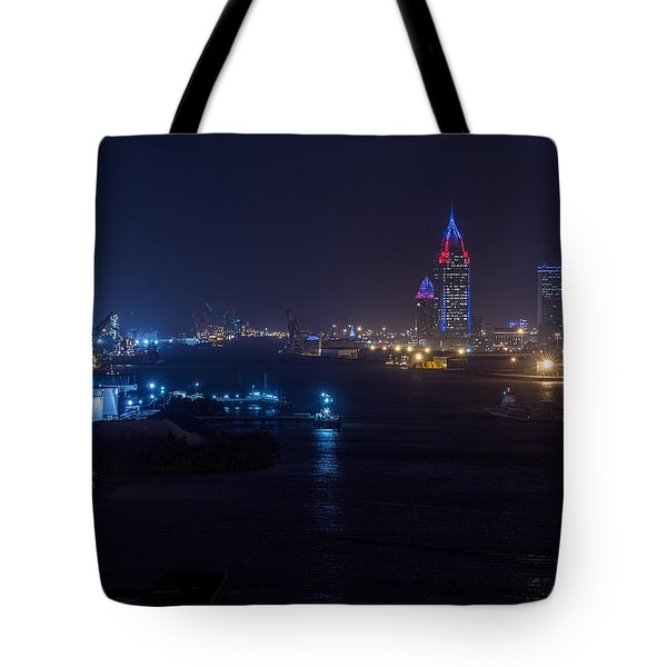 Alabama's Port City Tote Bag