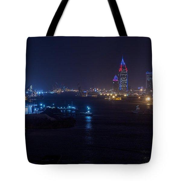 Alabama's Port City Tote Bag
