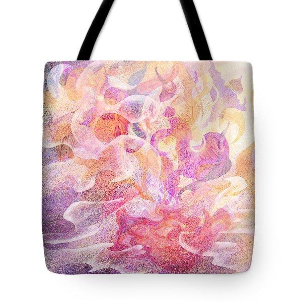 Aladdin's Lamp Tote Bag by Rachel Christine Nowicki