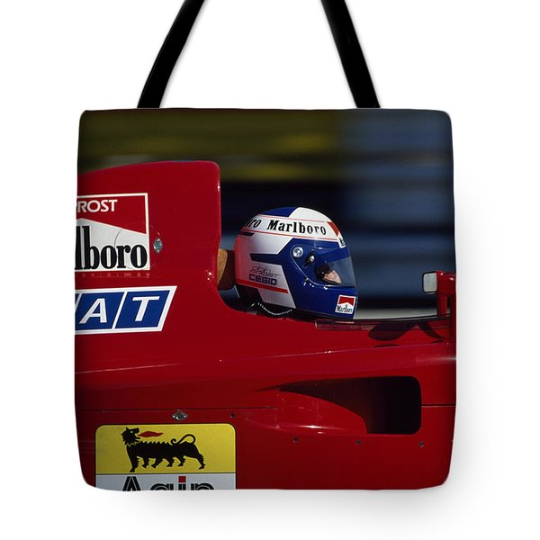 Alain Prost. 1990 French Grand Prix Tote Bag