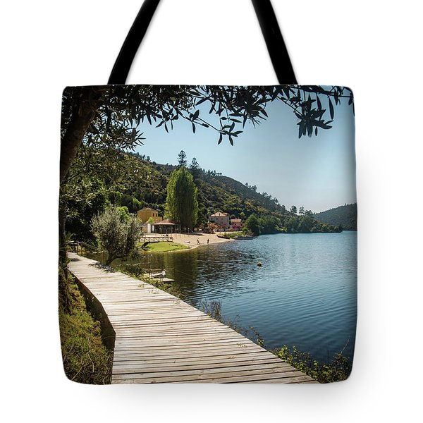 Tote Bag featuring the photograph Alamal Beach by Carlos Caetano