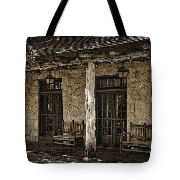 Alamo Adobe Tote Bag