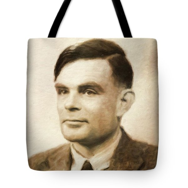 Alan Turin, Genius By Mary Bassett Tote Bag