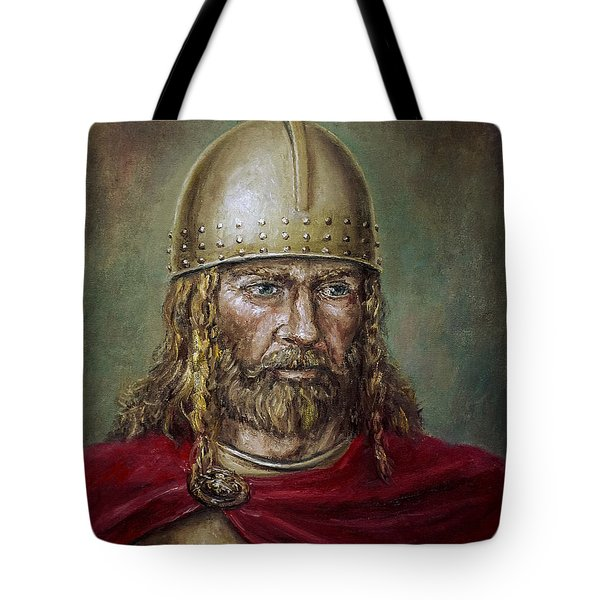 Alaric The Visigoth Tote Bag by Arturas Slapsys