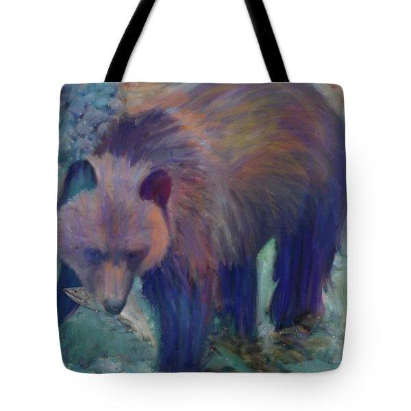Alaska Bear  Tote Bag