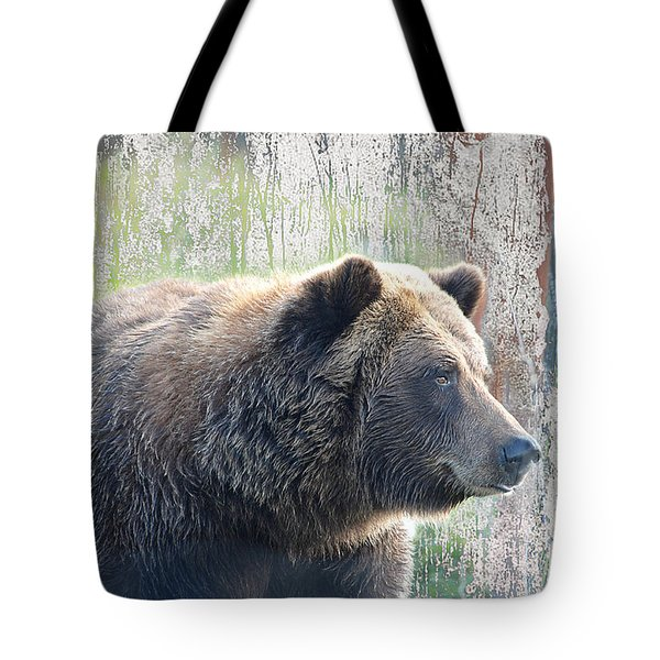 Alaska Brown Bear  Tote Bag by Dyle   Warren
