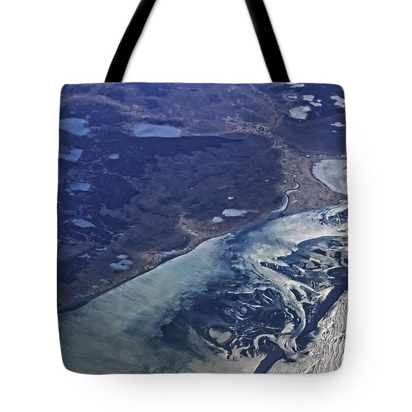 Alaska Coast At Bering Sea Tote Bag by Charline Xia