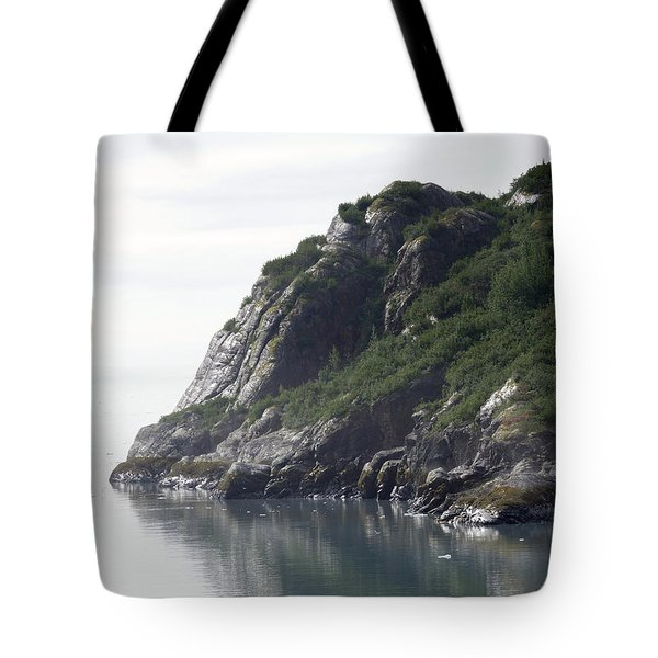 Alaska Coast Tote Bag