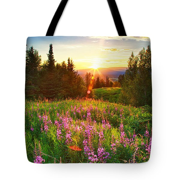 Alaska Field Tote Bag