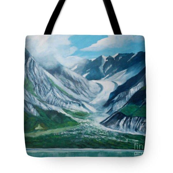 Alaska Glacier Bay Park Tote Bag