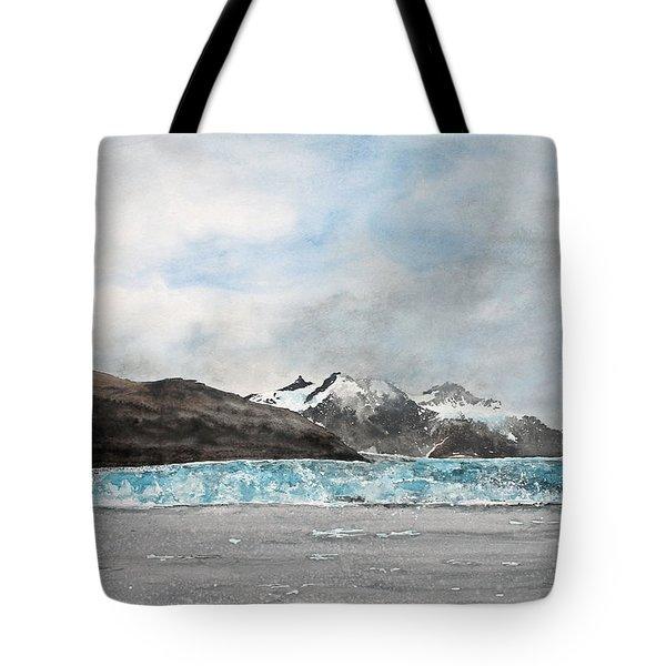 Alaska Ice Tote Bag by Monte Toon