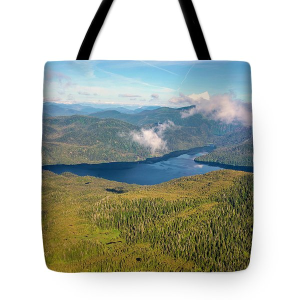 Tote Bag featuring the photograph Alaska Overview by Madeline Ellis