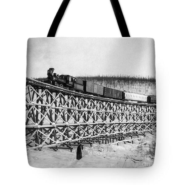 Alaska: Railroad, 1916 Tote Bag by Granger
