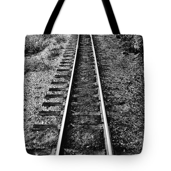Alaska Tracks Tote Bag