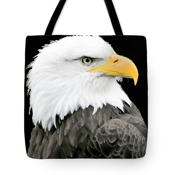 Alaskan Bald Eagle Tote Bag by Merton Allen