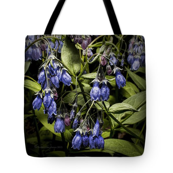 Alaskan Bluebell Tote Bag