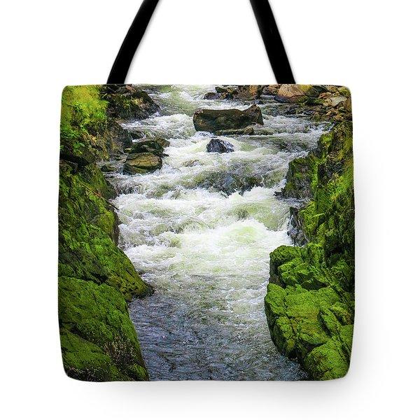 Alaskan Creek Tote Bag