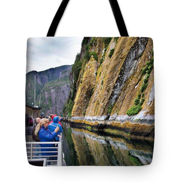 Alaskan Fjords Tote Bag