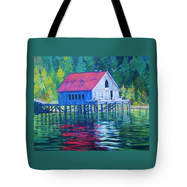Alaskan Gear Shed Tote Bag