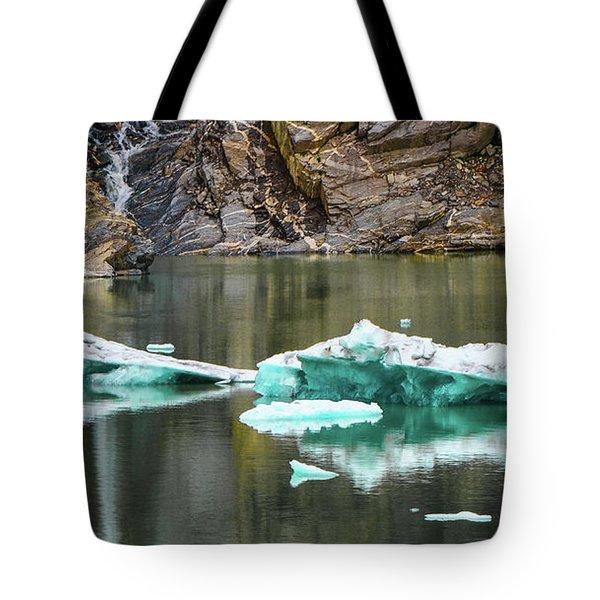 Alaskan Icebergs Tote Bag