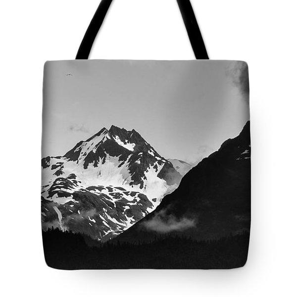 Alaskan Mountain Range Tote Bag