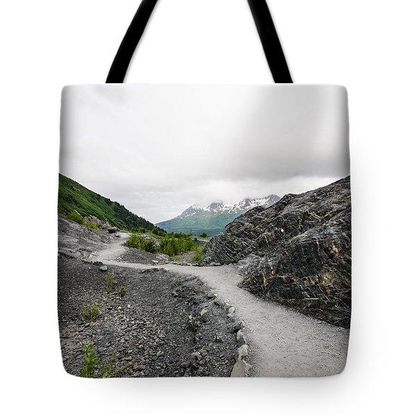 Alaskan Peaks Tote Bag