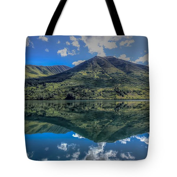 Alaskan Reflections Tote Bag