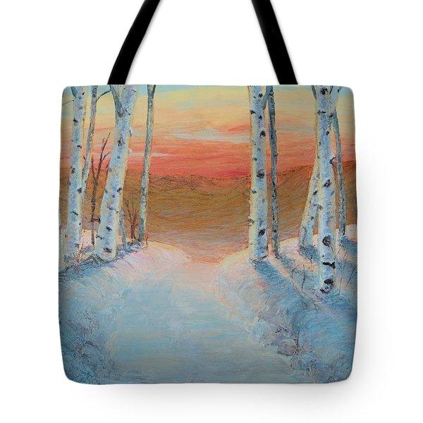 Alaskan Road Tote Bag