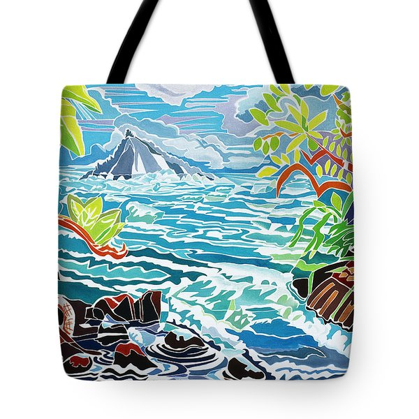 Alau Island Tote Bag by Fay Biegun - Printscapes