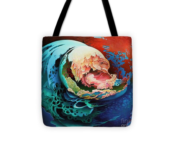 Alba Tote Bag by Symona Colina
