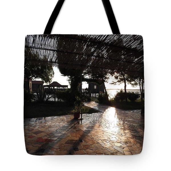 Albanian Landscape Tote Bag