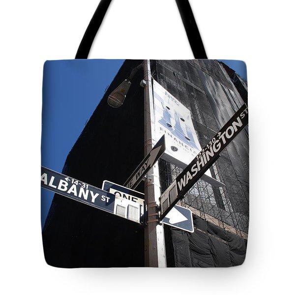 Albany And Washington Tote Bag by Rob Hans
