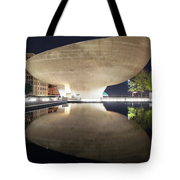 Tote Bag featuring the photograph Albany Egg by Brad Wenskoski