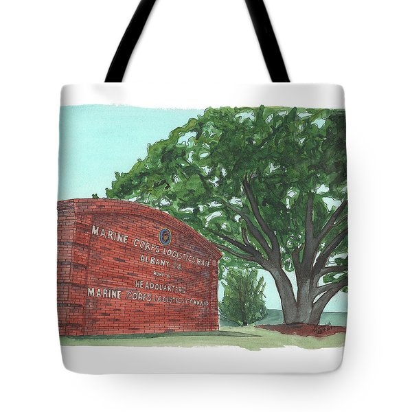 Albany Logistics Base Welcme Tote Bag