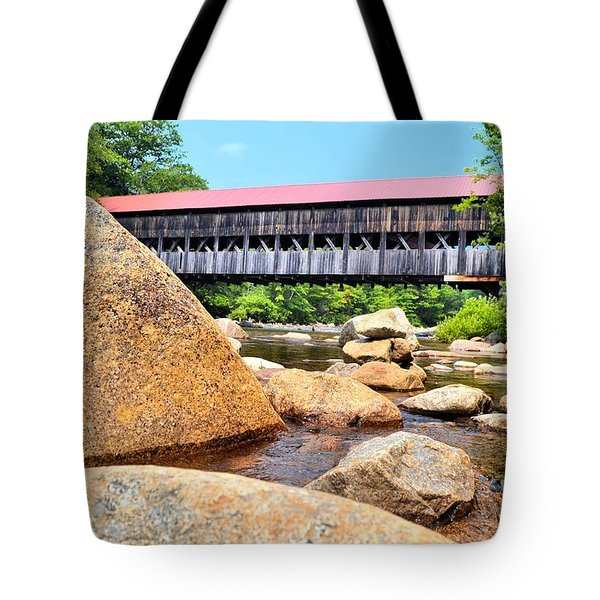 Albany On The Rocks Tote Bag