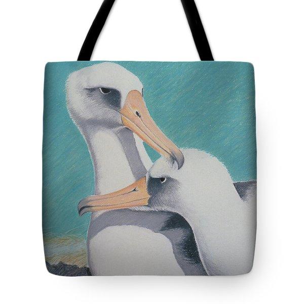 Albatros Love Tote Bag
