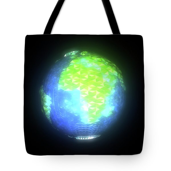 Albedo - Africa And Europe By Day Tote Bag