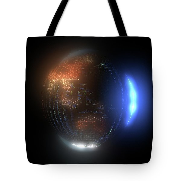 Albedo - Transition From Night To Day Tote Bag