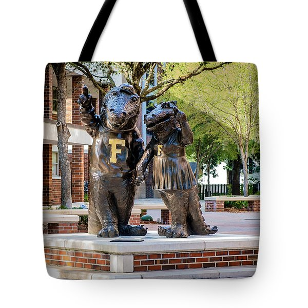 Albert And Alberta Gator Tote Bag