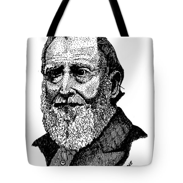 Albert Boone Tote Bag